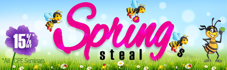 Click to learn more about Spring Steals