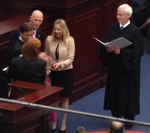 Image: Chief Justice Ricky Polston Swears in Lieutenant Governor