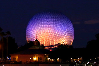 Image: Epcot's Iconic Spaceship Earth
