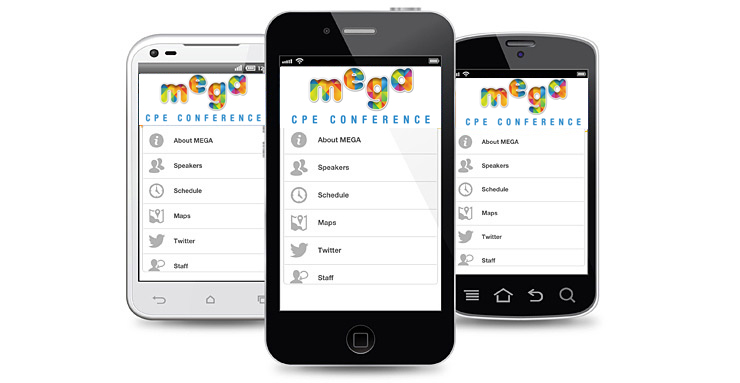 Image: Mega CPE Conference App