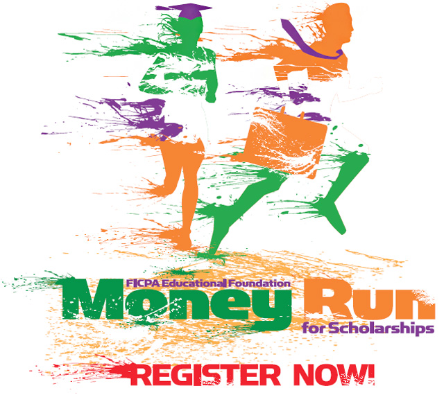 Image: Money Run for Scholarships Logo