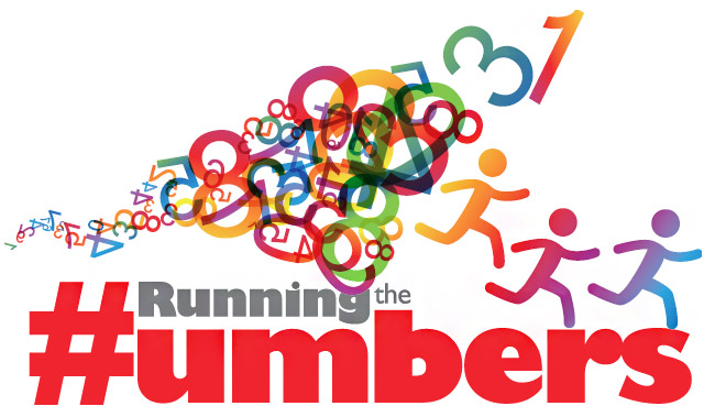 Image: Running the Numbers 5k Run/Walk Logo