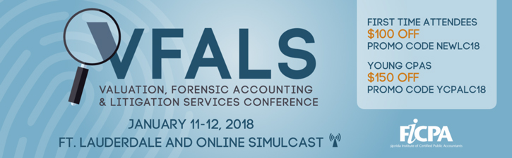 Image: Valuation, Forensic Accounting and Litigation Services Conference