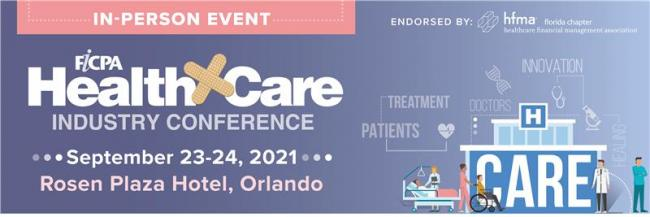 Health Care Industry Conference - In Person!