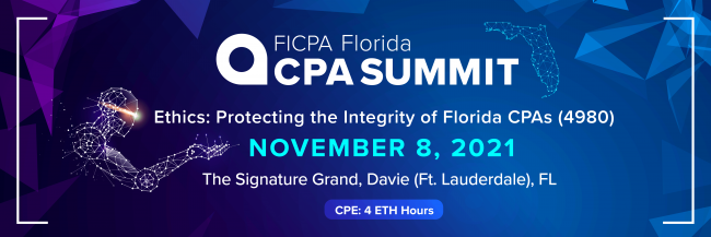 Ethics: Protecting the Integrity of Florida CPAs (4980)